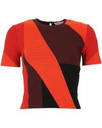 Alexander McQueen - Colour-block T-shirt - Lyst
