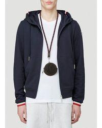 Moncler Lanyard Logo Coin Purse - Black