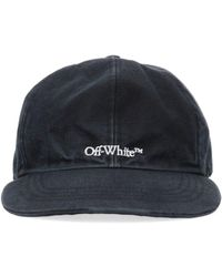 Off-White c/o Virgil Abloh Bookish Baseball Cap - Black