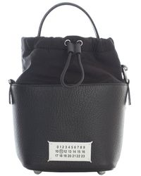 Maison Margiela 5ac Bucket Bag - Black