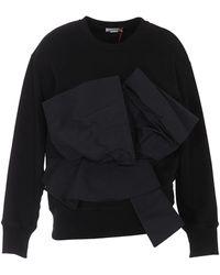 Alexander McQueen Bow Sweatshirt - Black