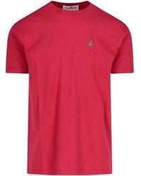 Vivienne Westwood Logo Embroidered T-shirt