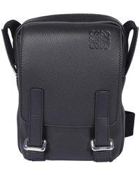 Loewe Military Xs Crossbody Bag - Black