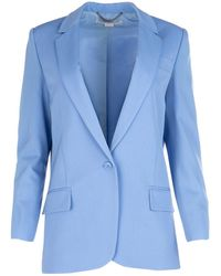 Stella McCartney Oversize Blazer - Blue