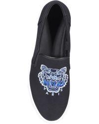 KENZO K-skate Tiger Slip-on Trainers - Black