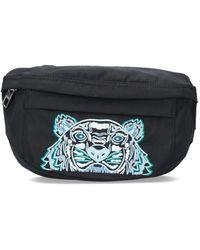 KENZO Tiger Kampus Bum Bag - Black