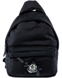 Moncler Genius Moncler X Simone Rocha Logo Backpack - Black