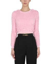 Moschino Other Materials Sweater - Pink