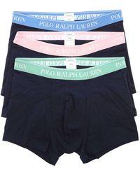 Polo Ralph Lauren 3 Boxer Shorts Set - Blue