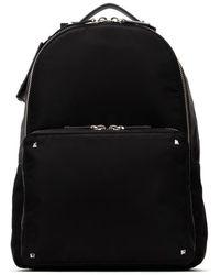 Valentino Valentino Garavani Rockstud Vltn Logo Backpack - Black