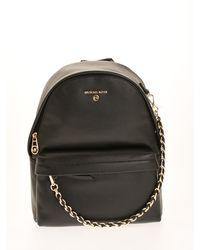 Michael Kors Slater Medium Backpack - Black