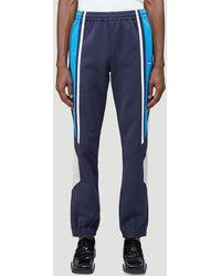 Martine Rose Twix Track Pants - Blue