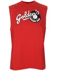 Golden Goose Deluxe Brand Womens Clothing - Red