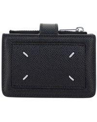 Maison Margiela Four-stitch Wallet - Black