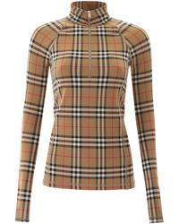 Burberry Vintage Check Fitted Top - Multicolour