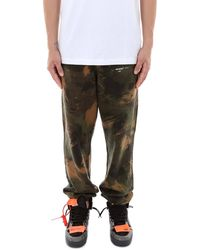 Off-White c/o Virgil Abloh Camouflage JOGGERS - Green