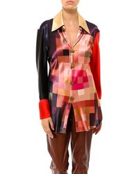 Marni Printed Button-up Shirt - Red