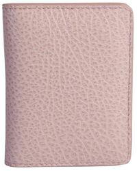 Maison Margiela Stitch Detail Card Case - Pink