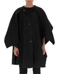See By Chloé Flared Oversize Cape - Black