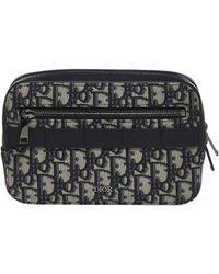 Dior Dior Oblique Jacquard Belt Bag - Black