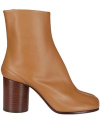 Maison Margiela Tabi Ankle Boots - Natural