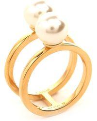 Chloé - Darcey Pearls Ring - Lyst