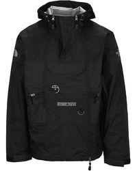 The North Face Steep Tech Hooded Rain Jacket - Black
