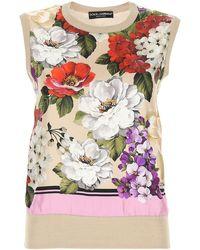 Dolce & Gabbana Floral Top - Multicolour