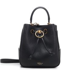 Mulberry Hampstead Small Bucket Bag - Black
