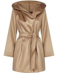 Max Mara Studio Gap Cashmere, Wool And Alpaca Coat - Multicolour