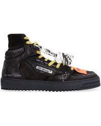 Off-White c/o Virgil Abloh Off Court High-top Trainers - Black