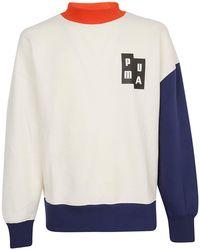 PUMA - Ader Crew Sweatshirt - Lyst