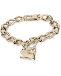 Jacquemus Chiquito Pendant Bracelet - Metallic