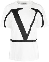 Valentino Vlogo Signature T-shirt - White