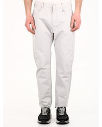 1017 ALYX 9SM Shiny Pants Gray