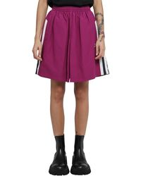 Balenciaga Sporty B Tracksuit Skirt - Purple