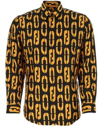 Fendi Code Motif Shirt - Multicolour