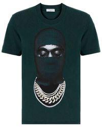 ih nom uh nit Graphic Print T-shirt - Green
