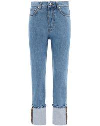 Nanushka Cho Straight-leg Jeans - Blue