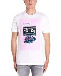 DSquared² - White Cotton T-shirt - Lyst