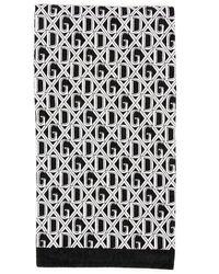 Dolce & Gabbana Monogram Towel - Black