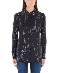 Equipment 192005208e231eclipse Silk Shirt - Black