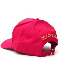 DSquared² Logo Baseball Cap - Pink