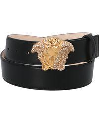 Versace Color Other Materials Belt - Black