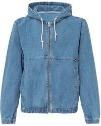Stussy Denim Work Jacket - Blue
