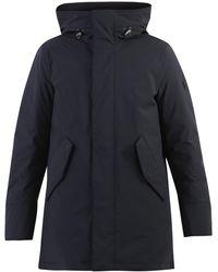 Woolrich Hooded Puffer Coat - Black