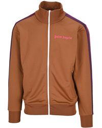Palm Angels College Track Jacket - Brown