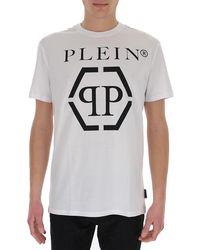 Philipp Plein Logo Printed T-shirt - White