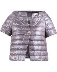 Herno Short Sleeve Down Jacket - Purple