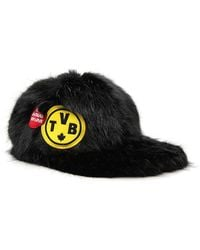DSquared² - Fur Baseball Cap - Lyst